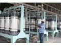 整体出售全新乳酸发酵工厂 500吨发酵罐6个
