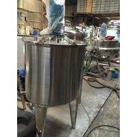 不锈钢搅拌罐 洗发水搅拌罐 专业定制电加热搅拌反应釜
