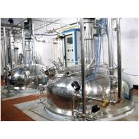拟建酶制剂生产线,4个10吨发酵罐及配套提取设备