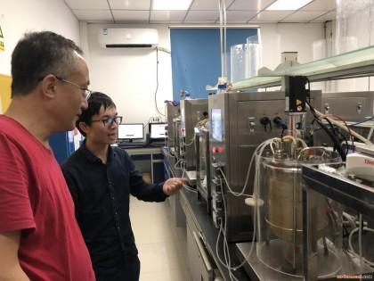 福建省农业科学院工程所科技人员赴福建师范大学交流发酵工程技术