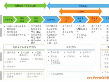 医药CMO&CDMO行业发展概览
