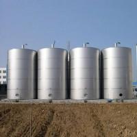 求购2台100立方米左右的二手不锈钢或玻璃钢贮罐