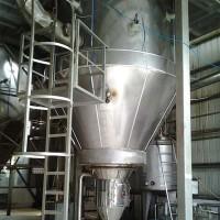 求购二手压力式喷雾干燥塔 处理量150公斤/小时