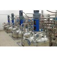 求上海周边发酵工厂代加工,要有30吨发酵罐及配套提取设备,包括离交树脂柱