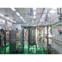 寻代加工发酵工厂,10吨以上发酵罐都可以,提取设备需要陶瓷膜,均质机,离心机或者板框,超滤膜